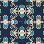 Crystallisation Seamless Pattern