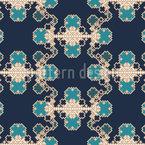 Kristallisierung Nahtloses Muster