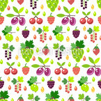 Berry-Mix Vector Pattern