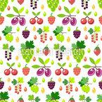 Berry-Mix Motif Vectoriel Sans Couture
