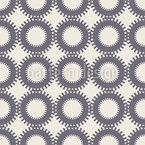Sun Contrast Seamless Vector Pattern Design