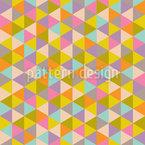 Dreiecks-Explosion Musterdesign