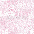 Floral Beautiful Differences Seamless Pattern