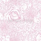 Florale Schöne Unterschiede Nahtloses Muster