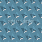 Dreidimensionale Pyramiden Muster Design