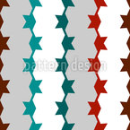 Diestâncias Regulares Design de padrão vetorial sem costura