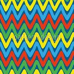Espinhos multicoloridos Design de padrão vetorial sem costura