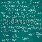 Chemie Unterricht Nahtloses Vektormuster