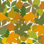 Blätterdach Nahtloses Vektormuster