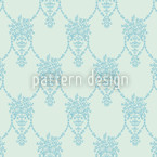 Amphora Mio Mint Green Repeating Pattern