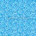Geometrische Sechsecke Nahtloses Vektormuster