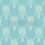 Amphora Mio Floralia Seamless Vector Pattern Design