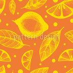 Zitrus-Blätter Rapportiertes Design