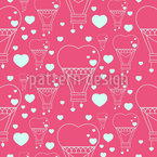 Heart Balloons Pattern Design