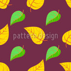 Symmetric Fall Seamless Pattern