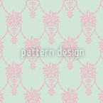 Amphora Mio Damask Pattern Design
