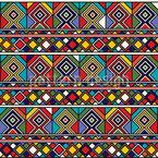 Afrikanische Ethno Fliesen Muster Design