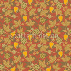 Foliage Dance Pattern Design