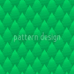 Over The Fir Forest Seamless Vector Pattern Design