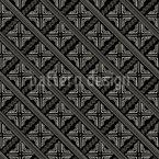 Padrão Ethno Africano Design de padrão vetorial sem costura