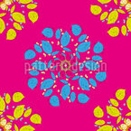Blomsterdagdrøm Sømløs design med vektor