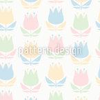 Un tocco di fiori retrò disegni vettoriali senza cuciture