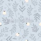 Botanische Textur Nahtloses Muster