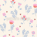 Spring Flight Vector Pattern