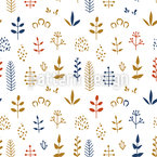 Stringed Harvest Repeating Pattern