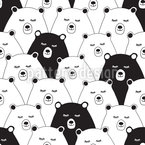 Warm-Hearted Teddies Pattern Design
