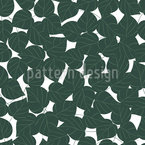 Birch Leaves Vector Ornament