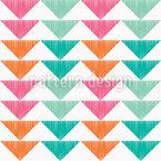 Dreiecks-Abfolge Nahtloses Vektormuster