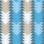 Dreiecks-Weg Vektor Muster