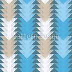Triangle Track Vector Pattern