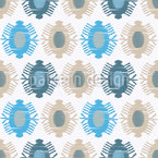 Ikat Drops Pattern Design