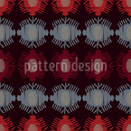 Tribal Beetles Seamless Vector Pattern Design