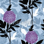 Peony Dreams Seamless Vector Pattern Design