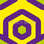 Retro Rhombus  Pattern Design