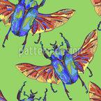 Südlicher Käfer Vektor Ornament