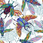 Tropische Tierwelt Nahtloses Muster