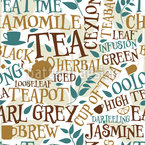 Tea Sorts Seamless Vector Pattern