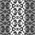 Retido por ornamentos Design de padrão vetorial sem costura