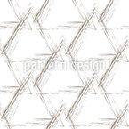 Stilisierte Grunge Pyramiden Nahtloses Vektormuster