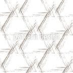 Stylized Grunge Pyramids  Seamless Vector Pattern Design