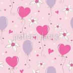 Lovely Heart Balloons Vector Design