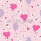 Schöne Herz Luftballons Vektor Design