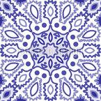 Kachel-Punkte Nahtloses Vektor Muster