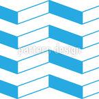 Zick-Zack-Balken Vektor Muster