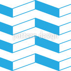 Zigzag Beams Vector Pattern