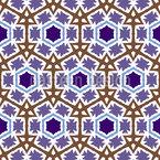 Networked Hexagons Vector Design